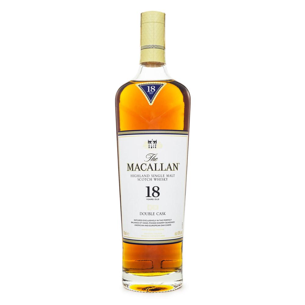 The Macallan Double Cask 18 Anos Single Malt Scotch Whisky 700ml