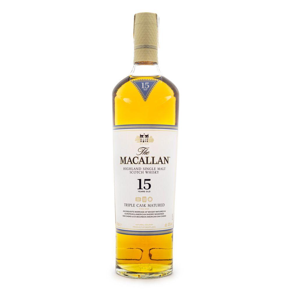 The Macallan Triple Cask 15 Anos Single Malt Scotch Whisky 700ml