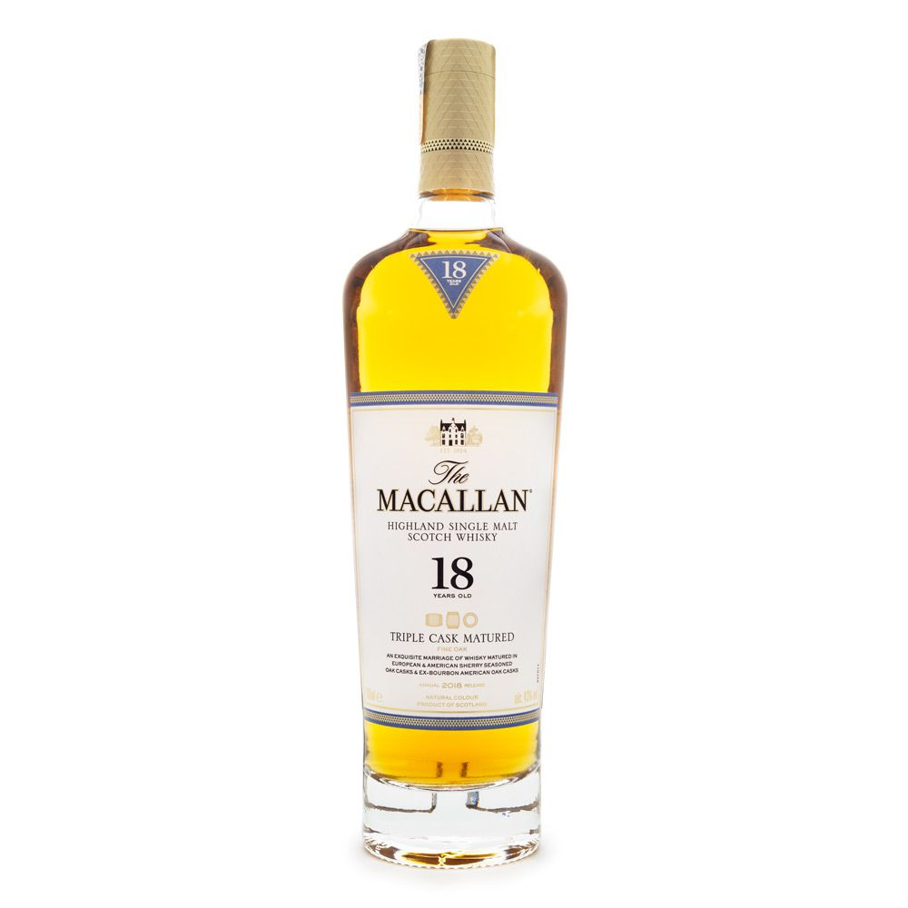 The Macallan Triple Cask 18 Anos Single Malt Scotch Whisky 700ml