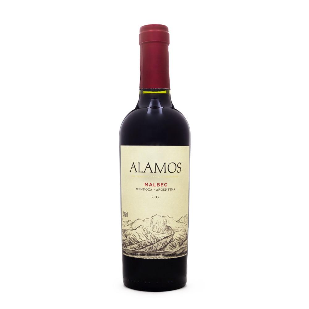 Vinho Alamos Malbec Meia Garrafa 375ml