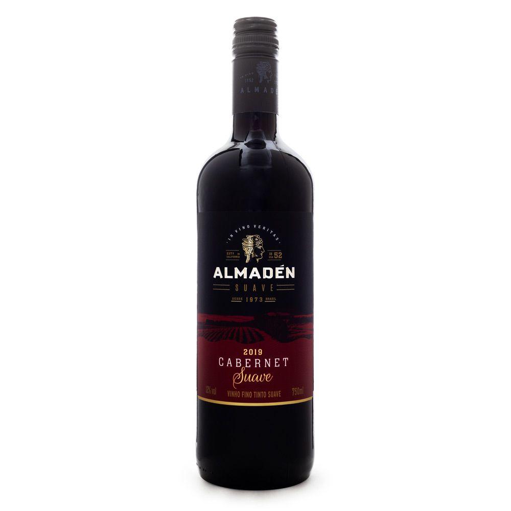 Vinho Almadén Suave Cabernet 750ml