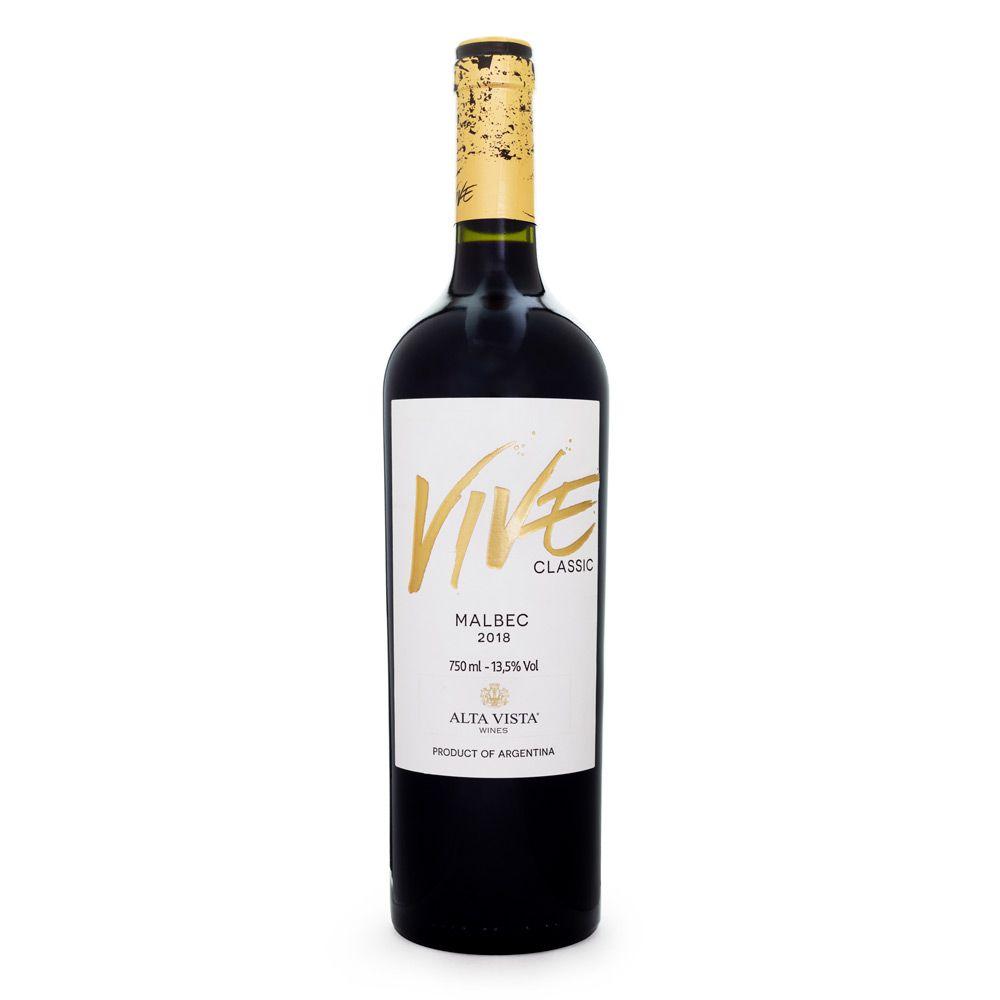 Vinho Alta Vista Vive Classic Malbec 750ml