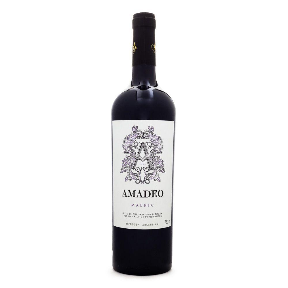 Vinho Amadeo Premium Malbec 750ml