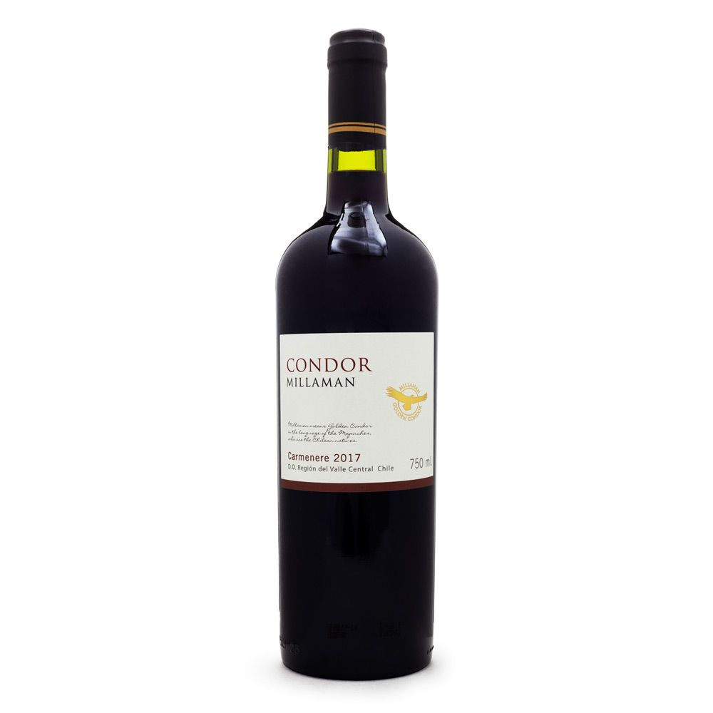 Vinho Condor Millaman Carménère 750ml