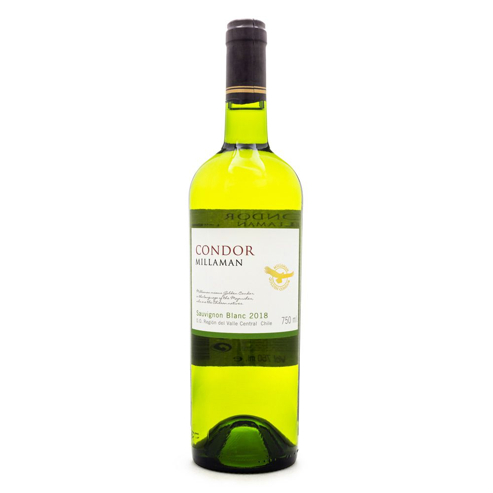 Vinho Condor Millaman Sauvignon Blanc 750ml