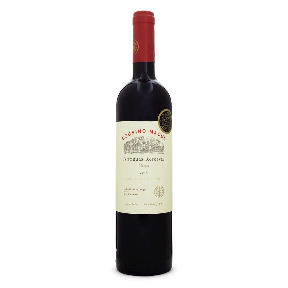 Vinho Cousiño Macul Antiguas Reservas - Merlot 750ml