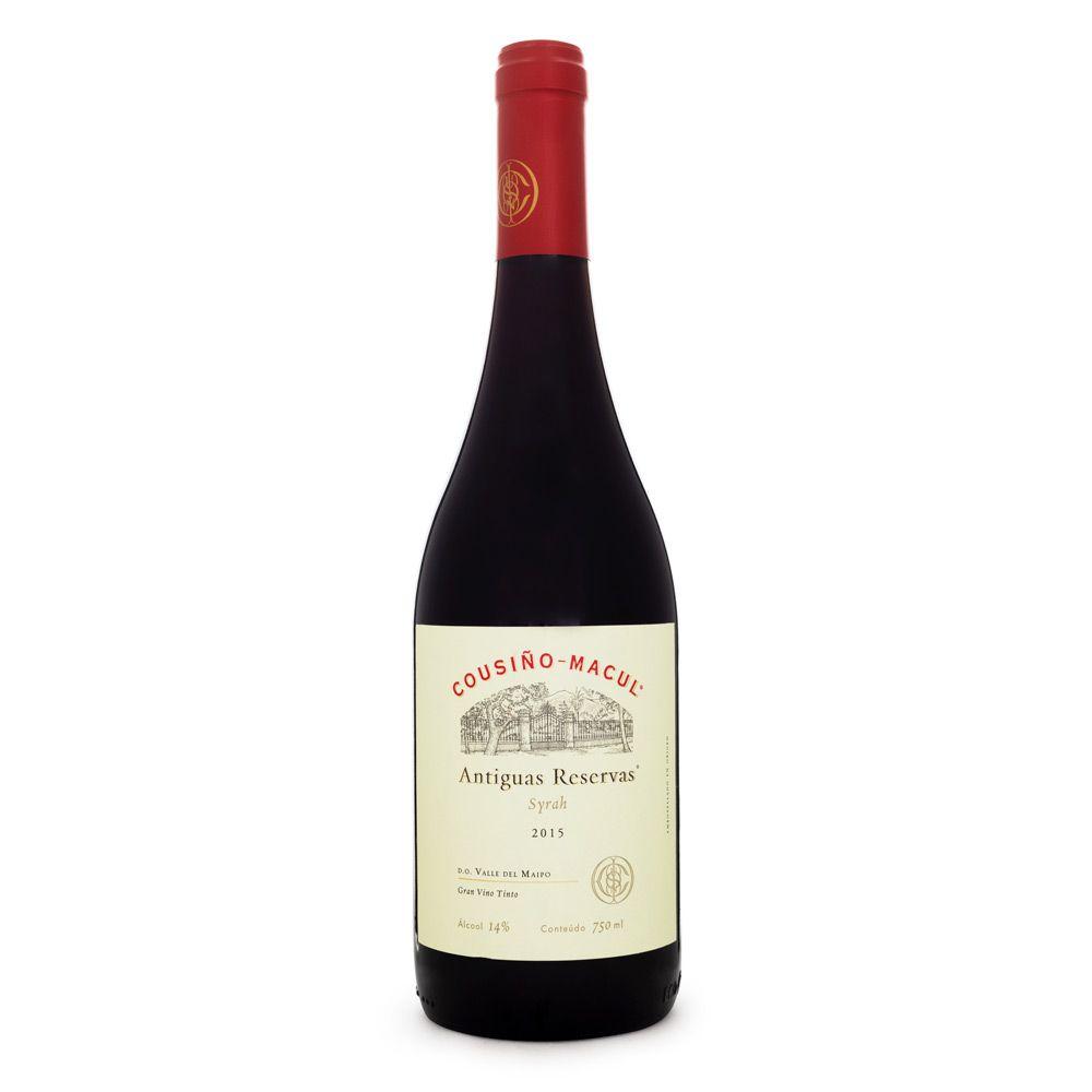 Vinho Cousiño Macul Antiguas Reservas - Syrah 750ml