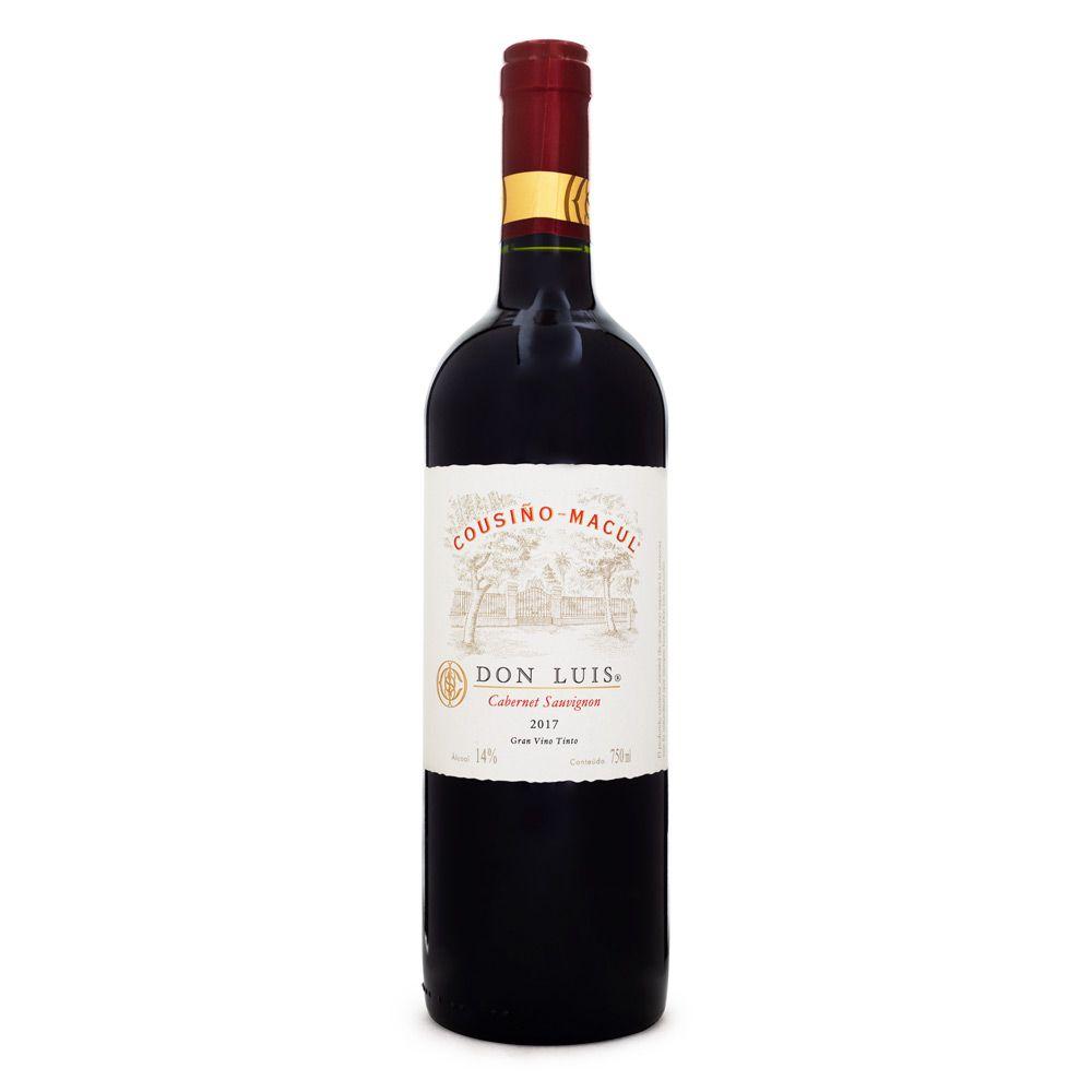 Vinho Cousiño Macul Don Luis - Cabernet Sauvignon 750ml