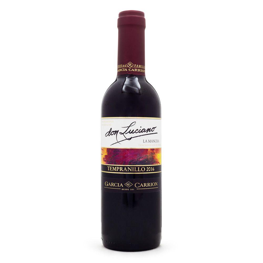 Vinho Don Luciano Tempranillo D.O. La Mancha Meia Garrafa 375ml