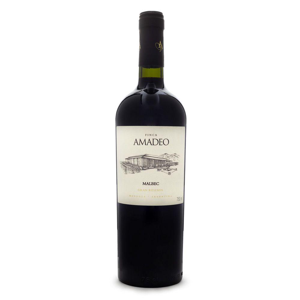 Vinho Finca Amadeo Gran Reserva Malbec 750ml