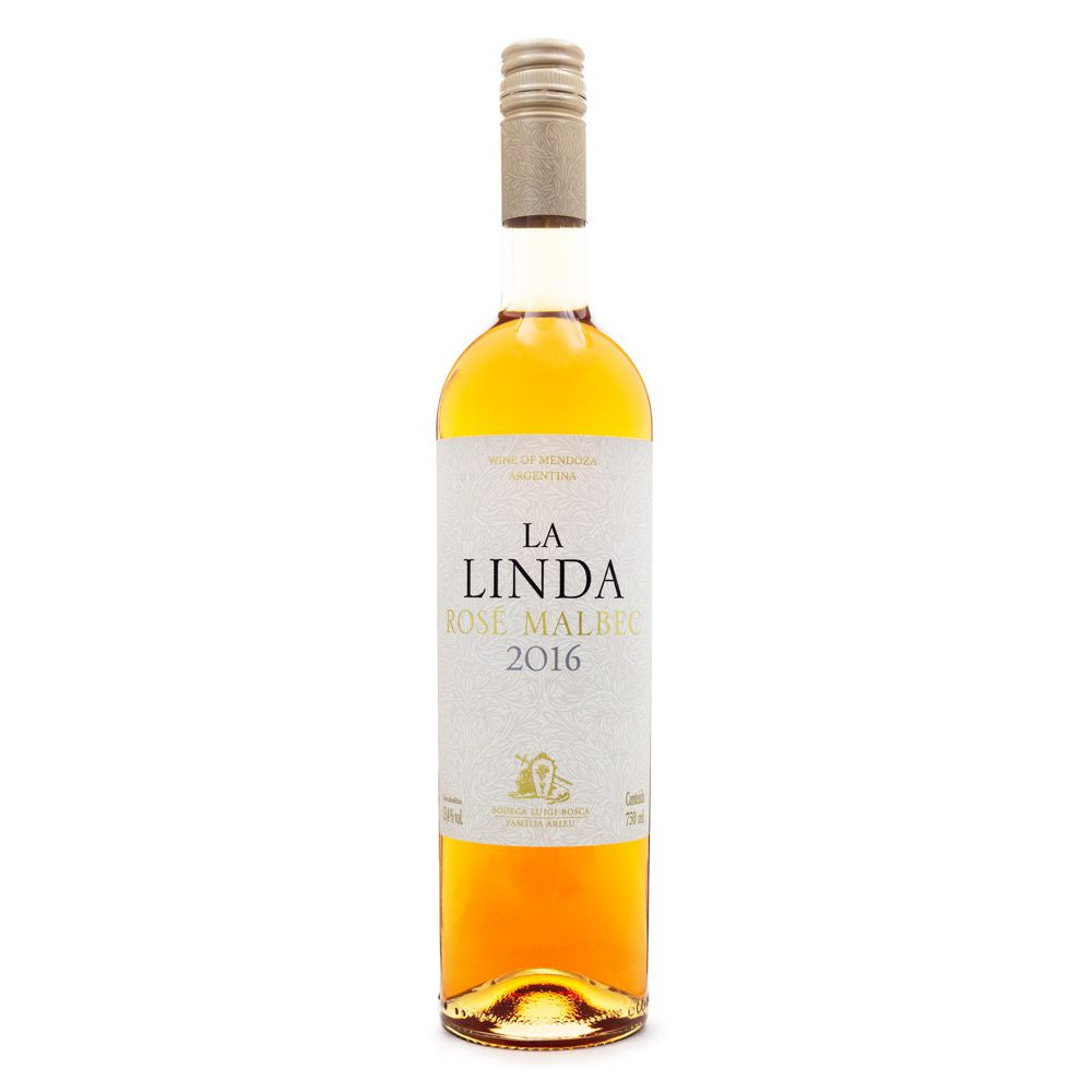 Vinho La Linda Rosé Malbec 750ml