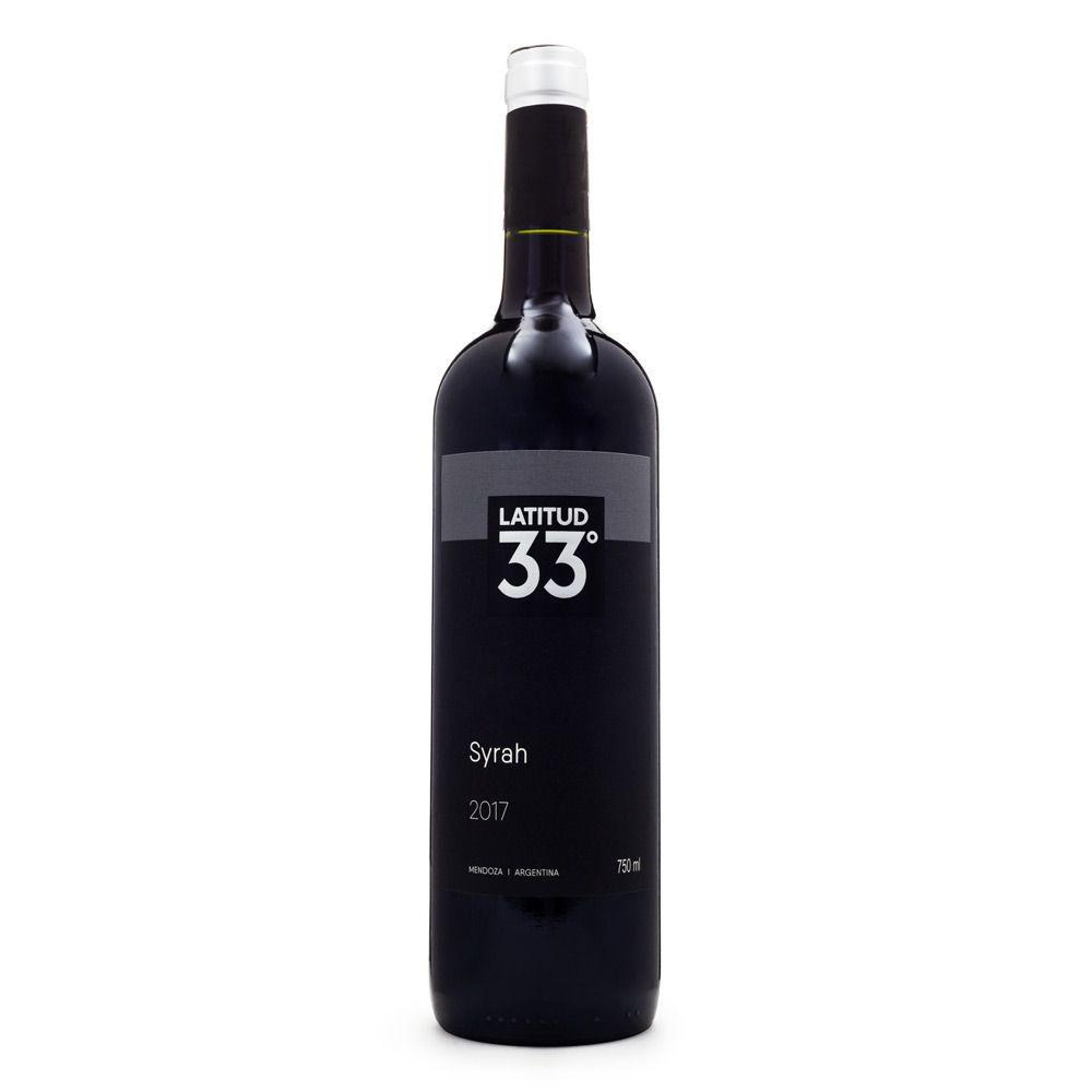 Vinho Latitud 33 Syrah 750ml