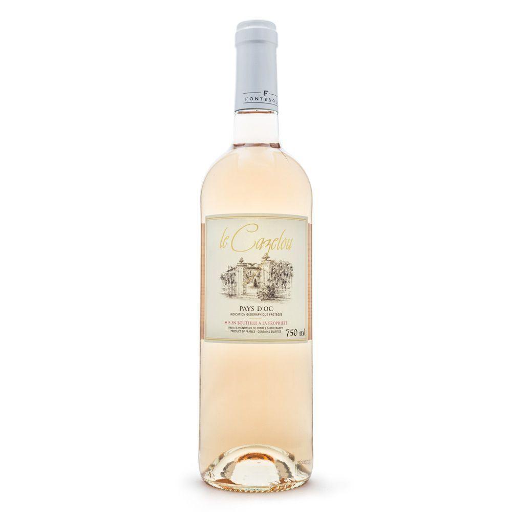 Vinho Le Cazelou Rosé IGP Pays D'Oc 750ml