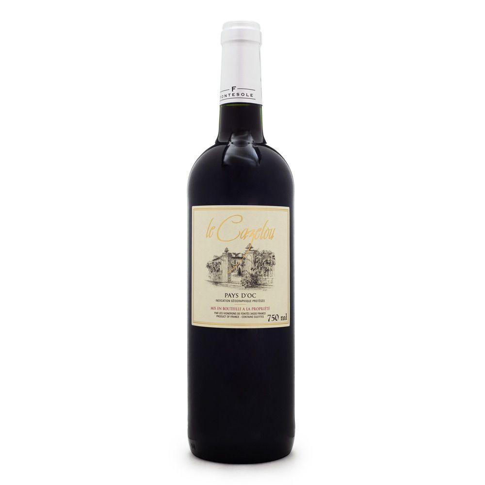 Vinho Le Cazelou Tinto IGP Pays D'Oc 750ml