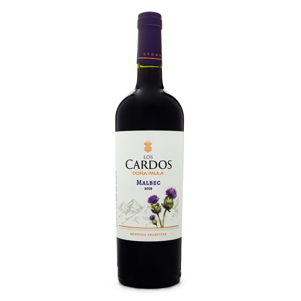 Vinho Los Cardos Doña Paula Malbec 750ml