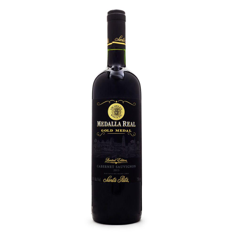 Vinho Medalla Real Santa Rita Cabernet Sauvignon 750ml