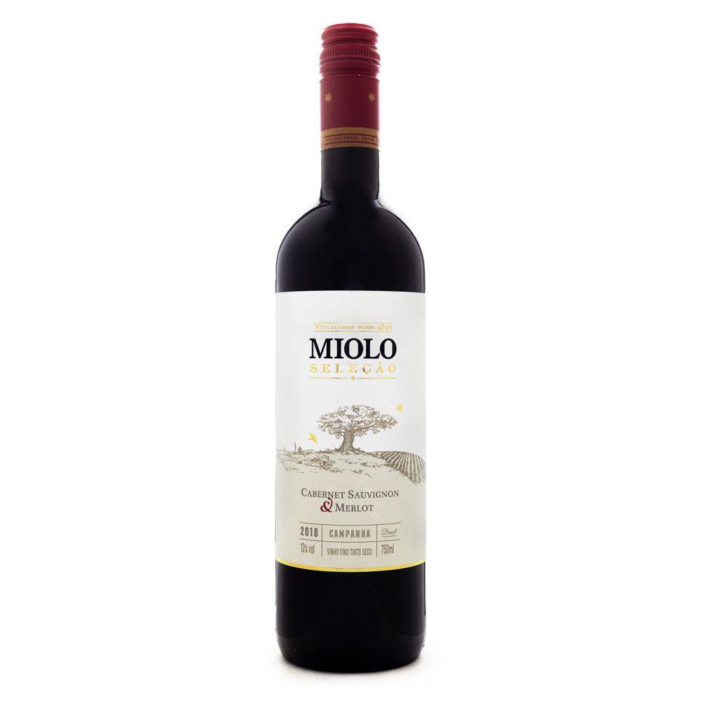 Vinho Miolo Seleção Cabernet Sauvignon & Merlot 750ml