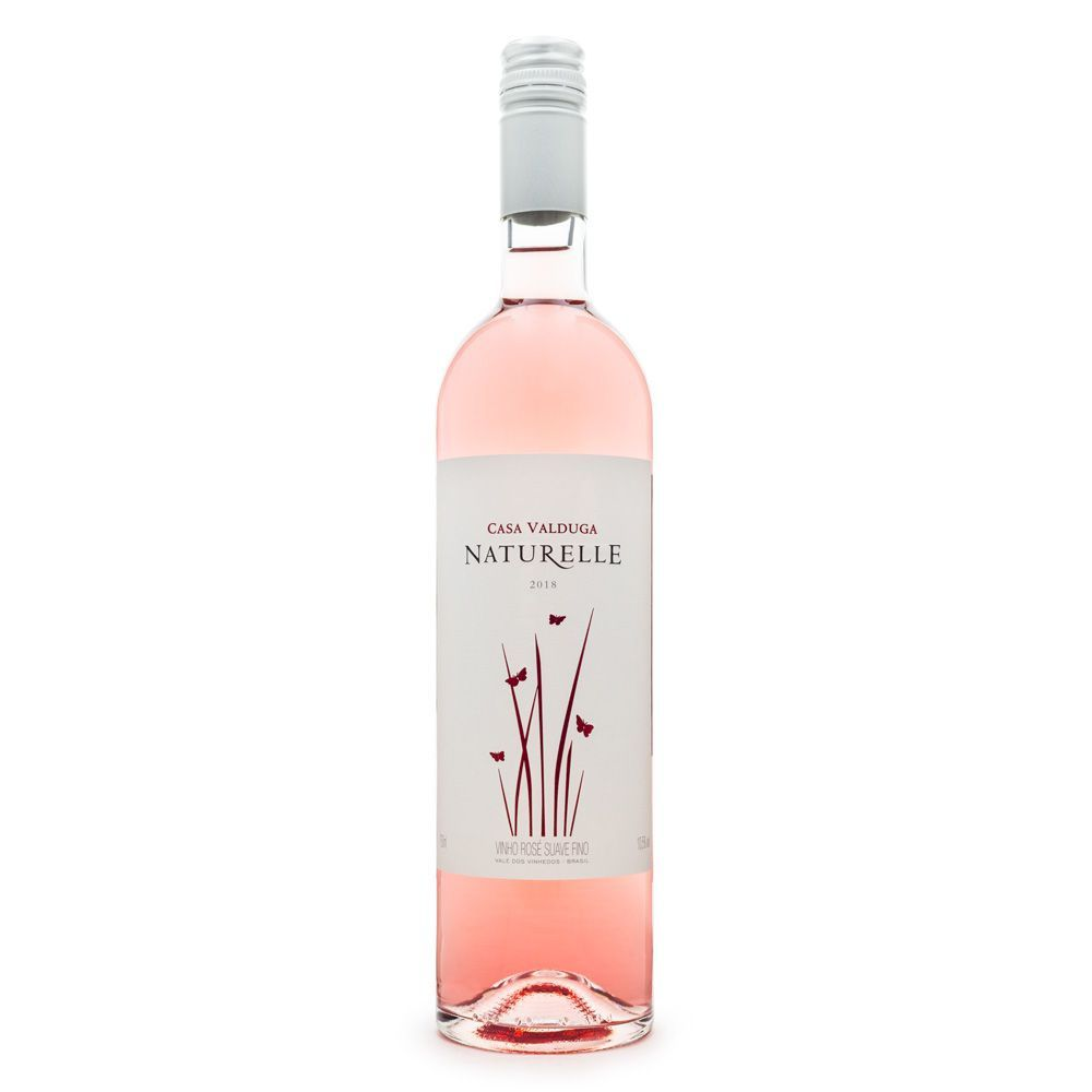Vinho Naturelle Rosé Suave 750ml