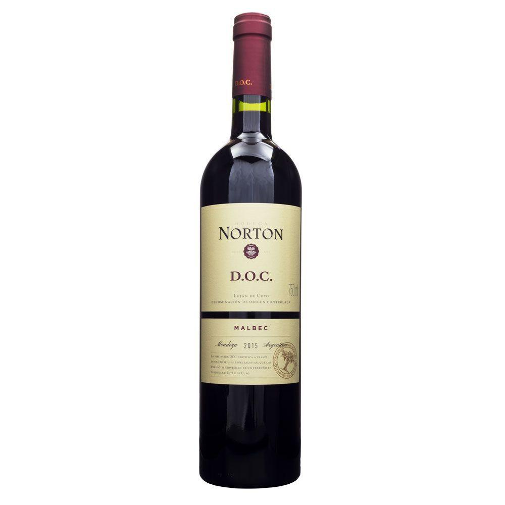 Vinho Norton D.O.C. Malbec 750ml
