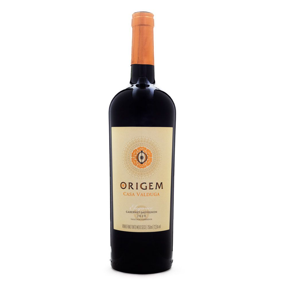 Vinho Origem Elegance Cabernet Sauvignon Casa Valduga 750ml