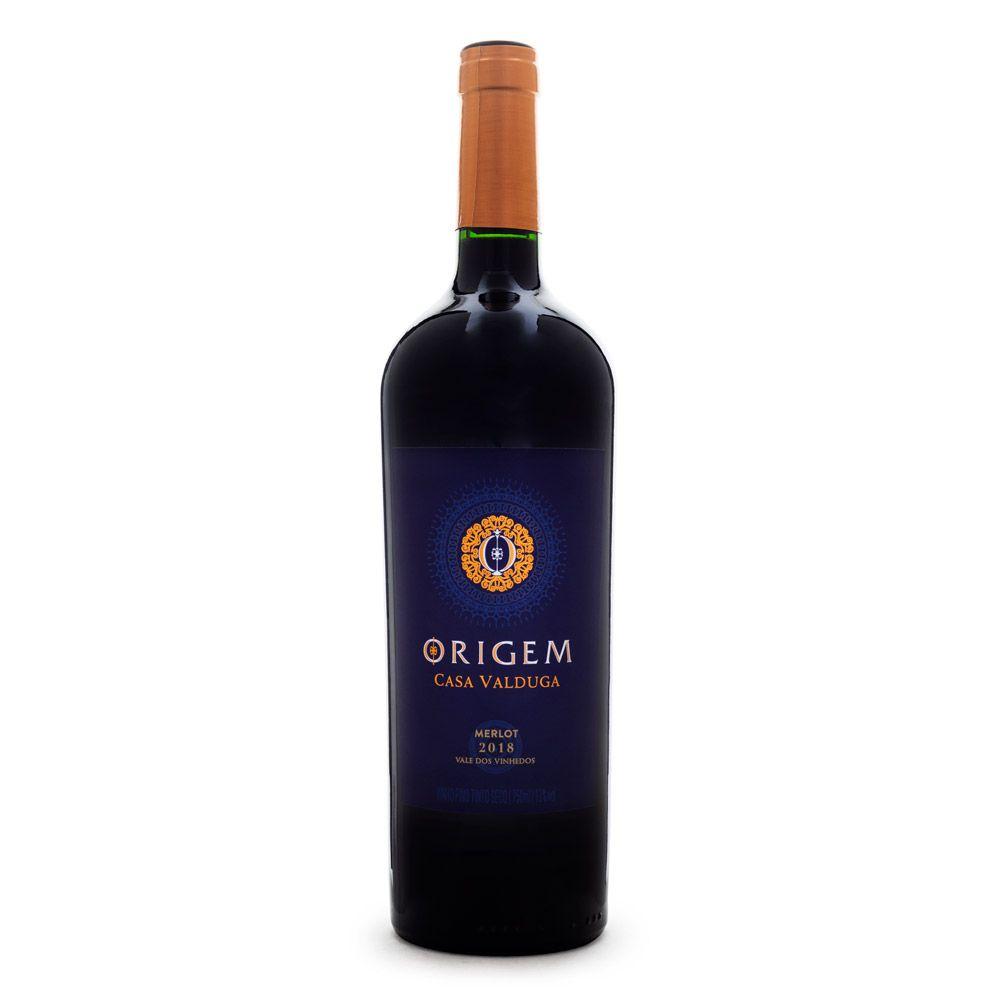 Vinho Origem Merlot Casa Valduga 750ml