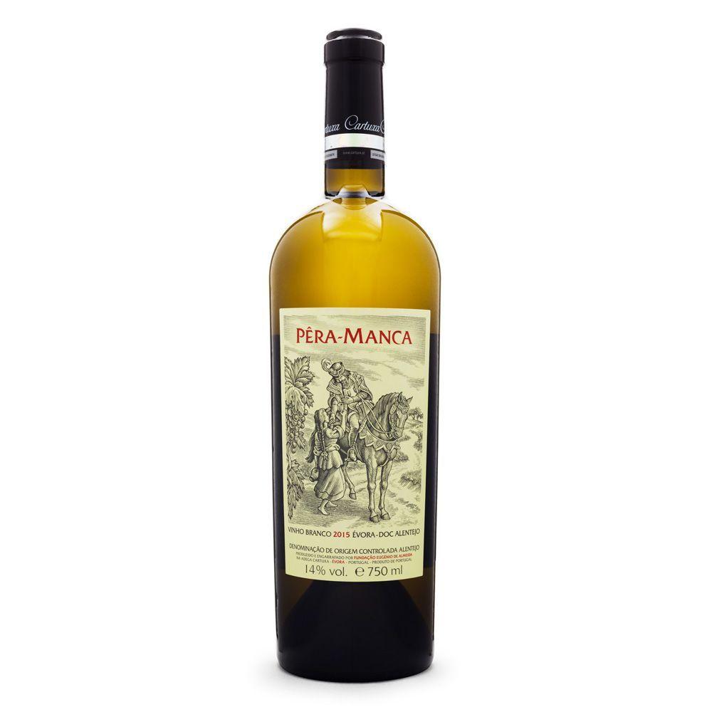 Vinho Pêra-Manca Branco - Évora - DOC Alentejo 750ml