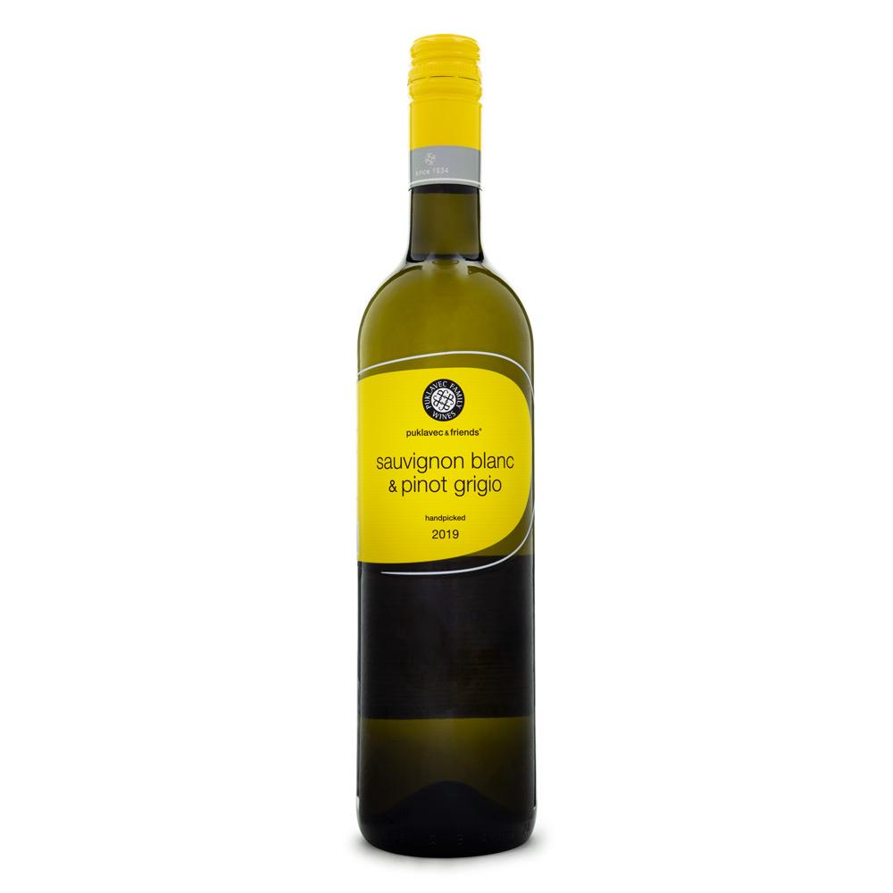 Vinho Puklavec & Friends Sauvignon Blanc & Pinot Grigio 750ml