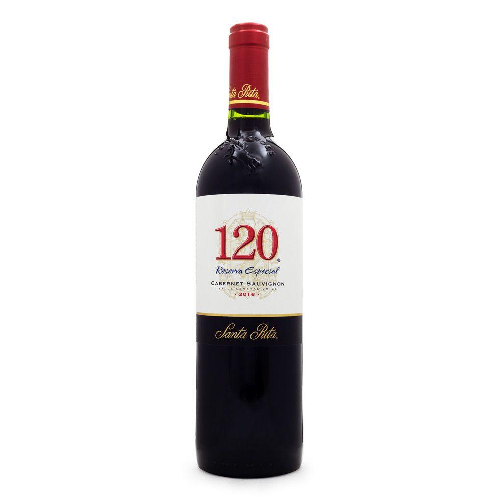 Vinho Santa Rita 120 Reserva Especial Cabernet Sauvignon 750ml