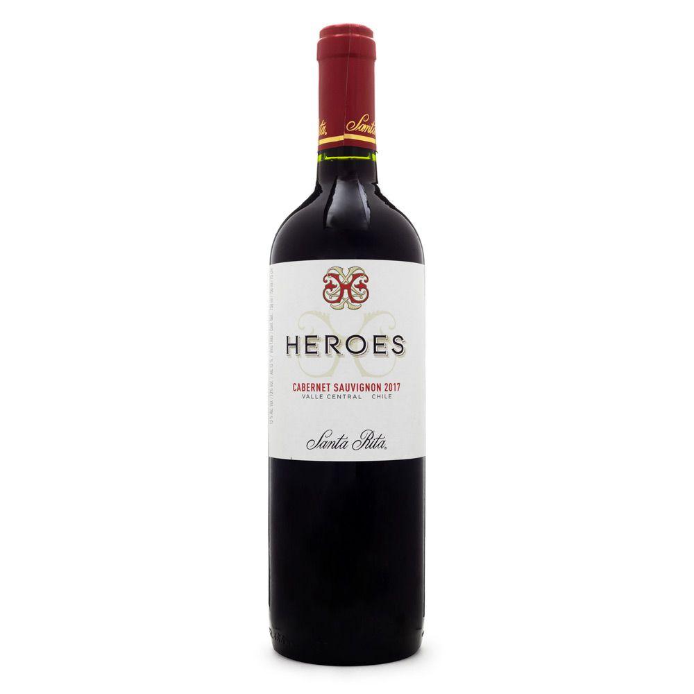 Vinho Santa Rita Heroes Cabernet Sauvignon 750ml