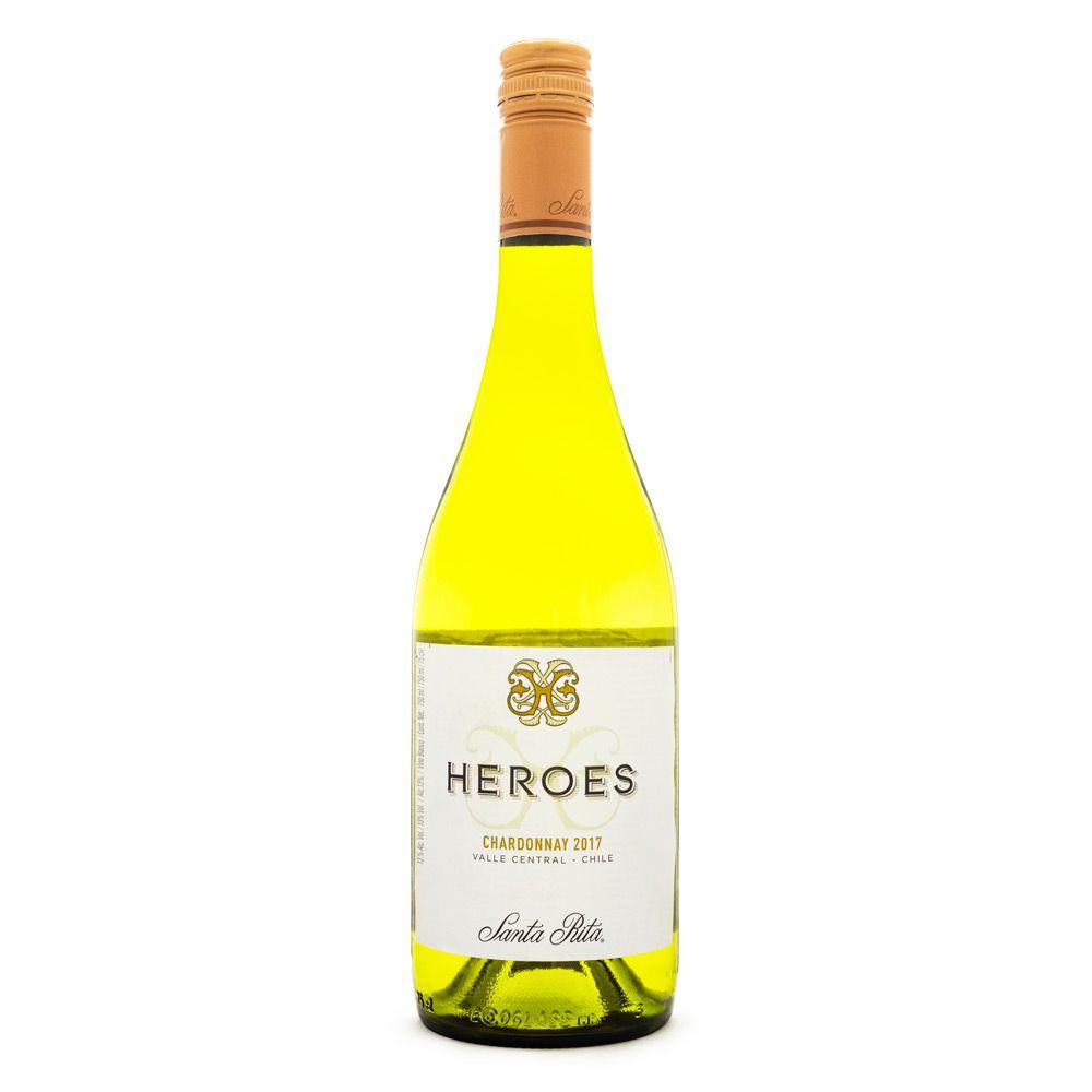 Vinho Santa Rita Heroes Chardonnay 750ml