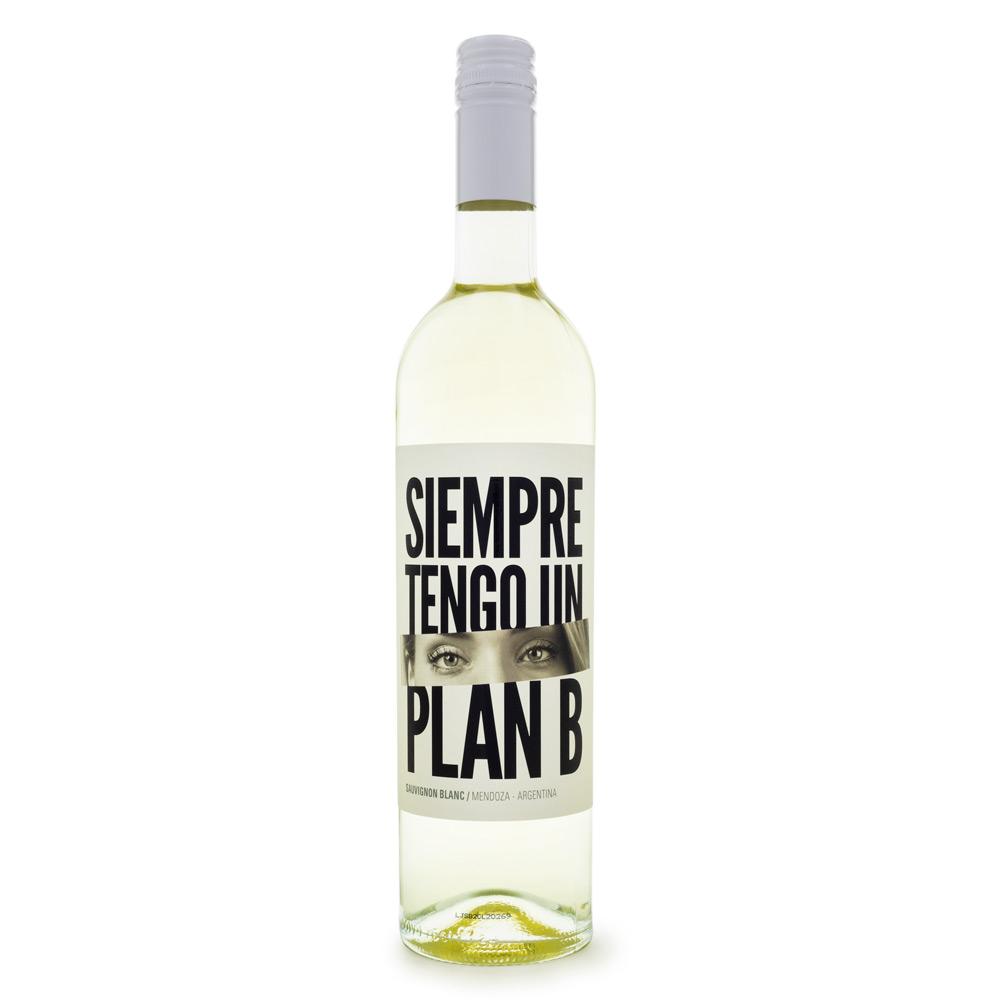 Vinho Siempre Tengo un Plan B - Sauvignon Blanc 750ml