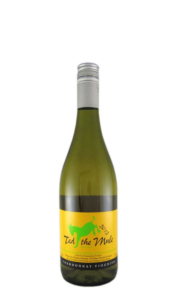 Vinho Ted The Mule Branco Chardonnay Viognier 750ml