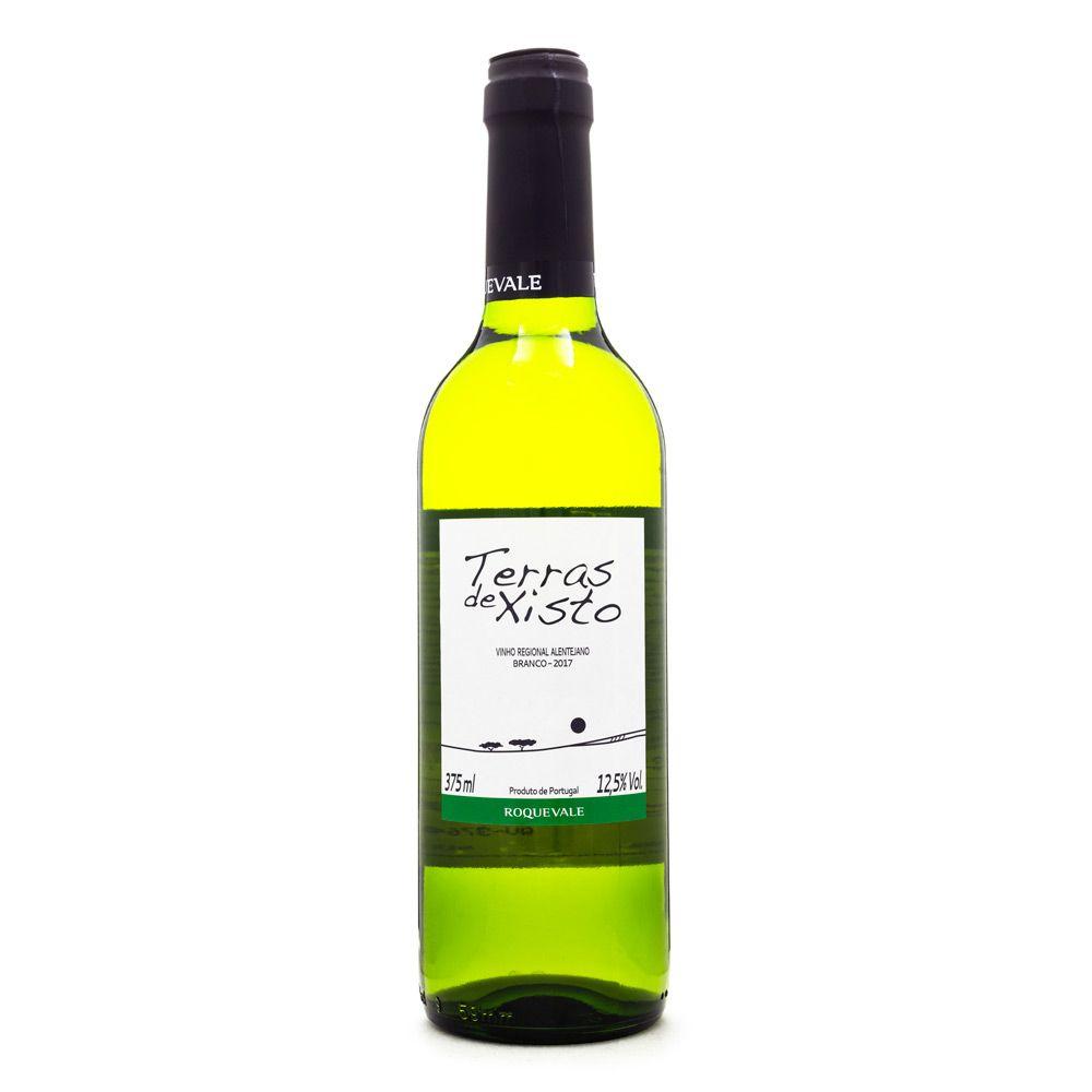 Vinho Terras de Xisto Regional Alentejano Branco Meia Garrafa 375ml