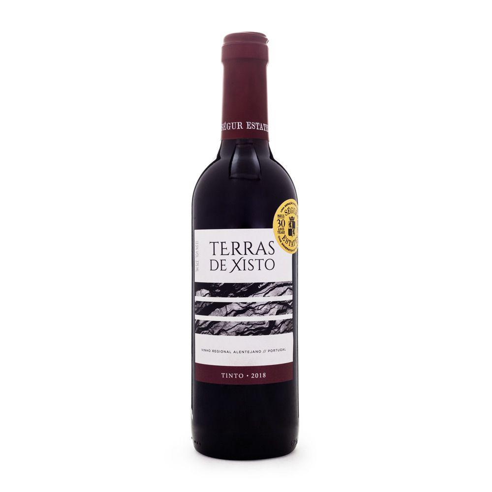 Vinho Terras de Xisto Regional Alentejano Tinto Meia Garrafa 375ml