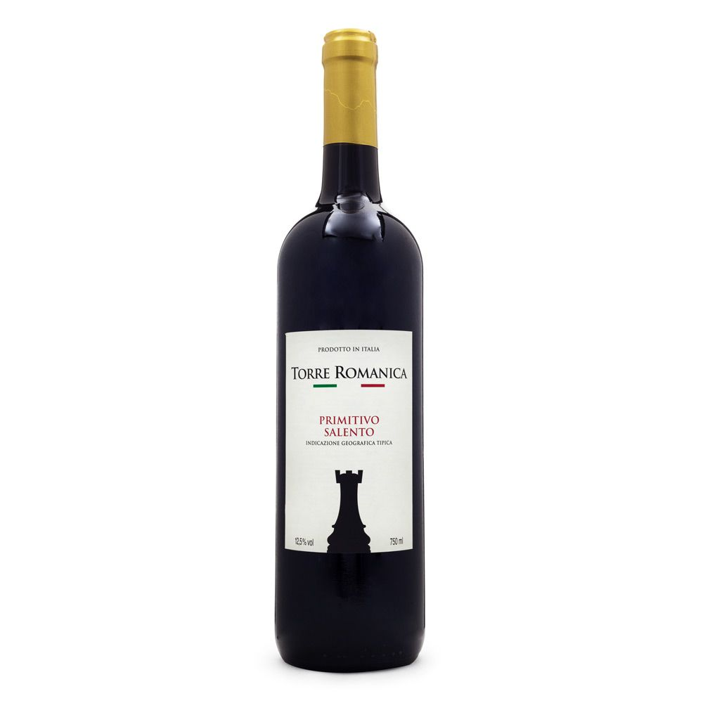 Vinho Torre Romanica Primitivo Salento IGT 750ml