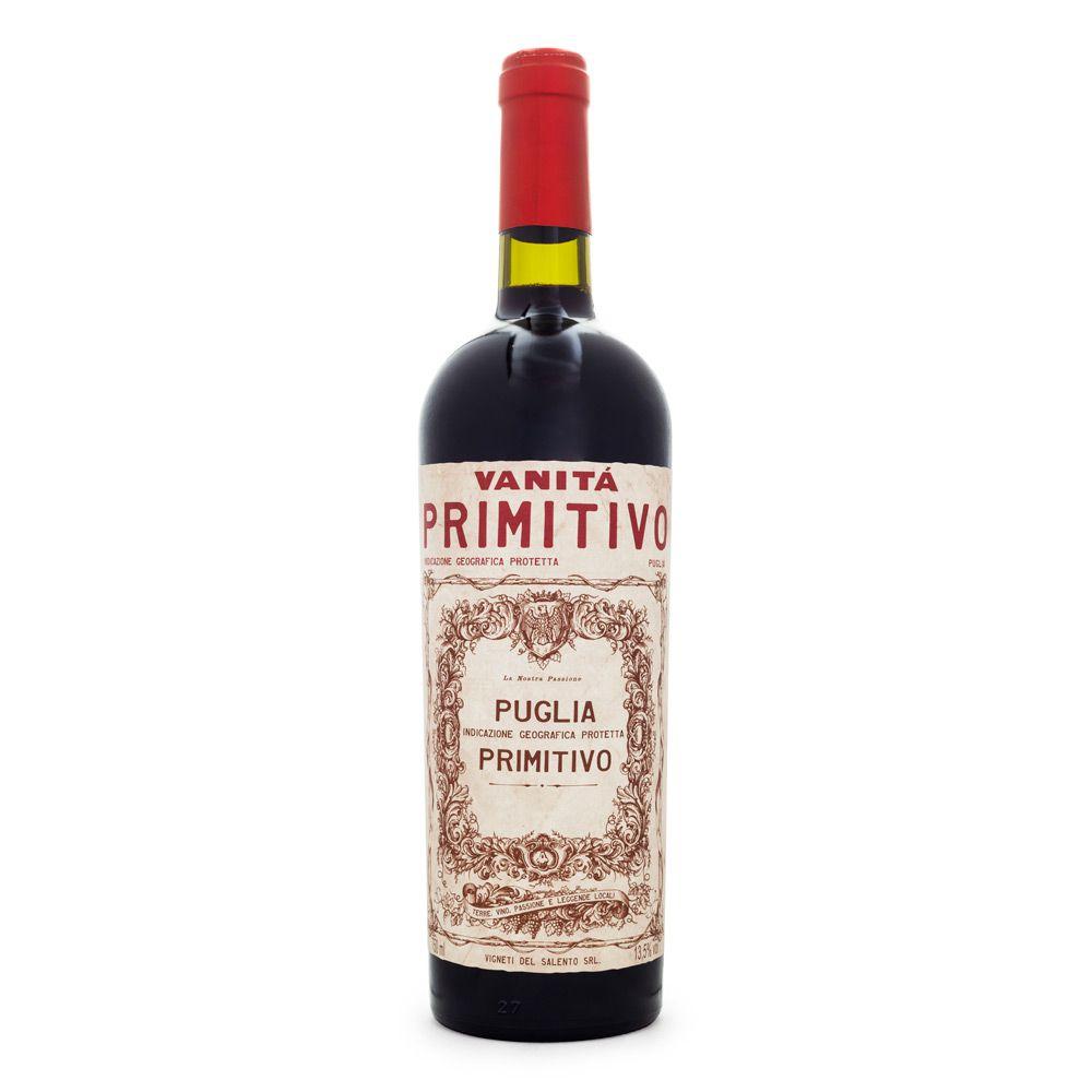 Vinho Vanitá Primitivo Puglia IGP 750ml