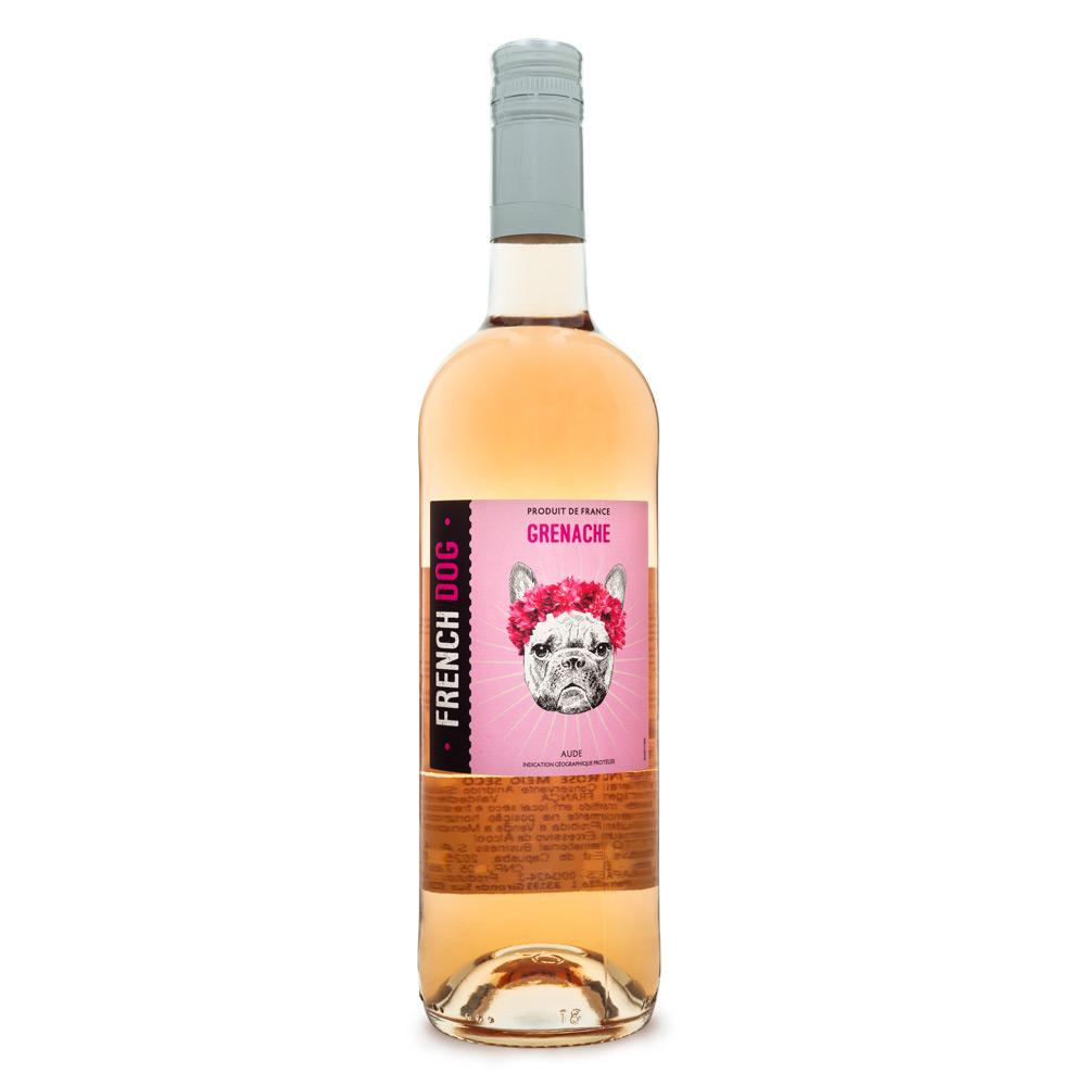 Vinho Vegano French Dog Grenache Rosé 750ml