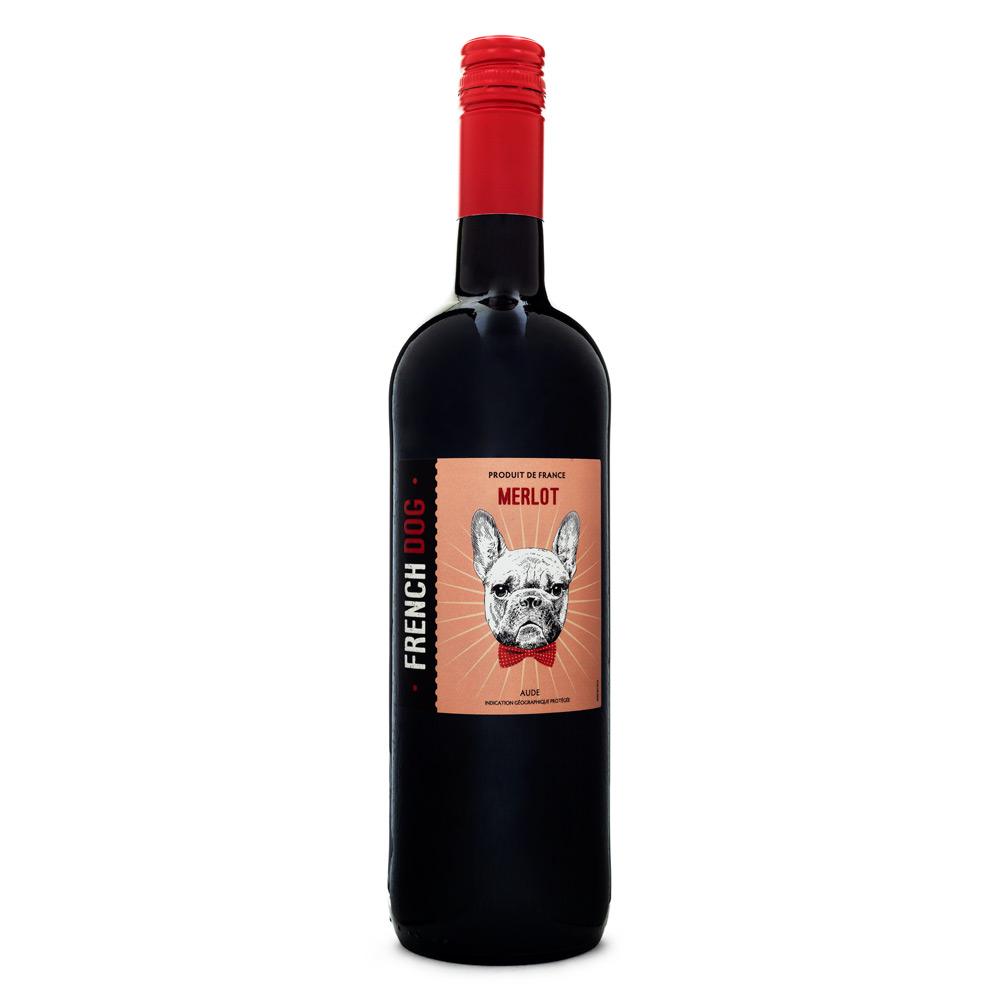 Vinho Vegano French Dog Merlot 750ml