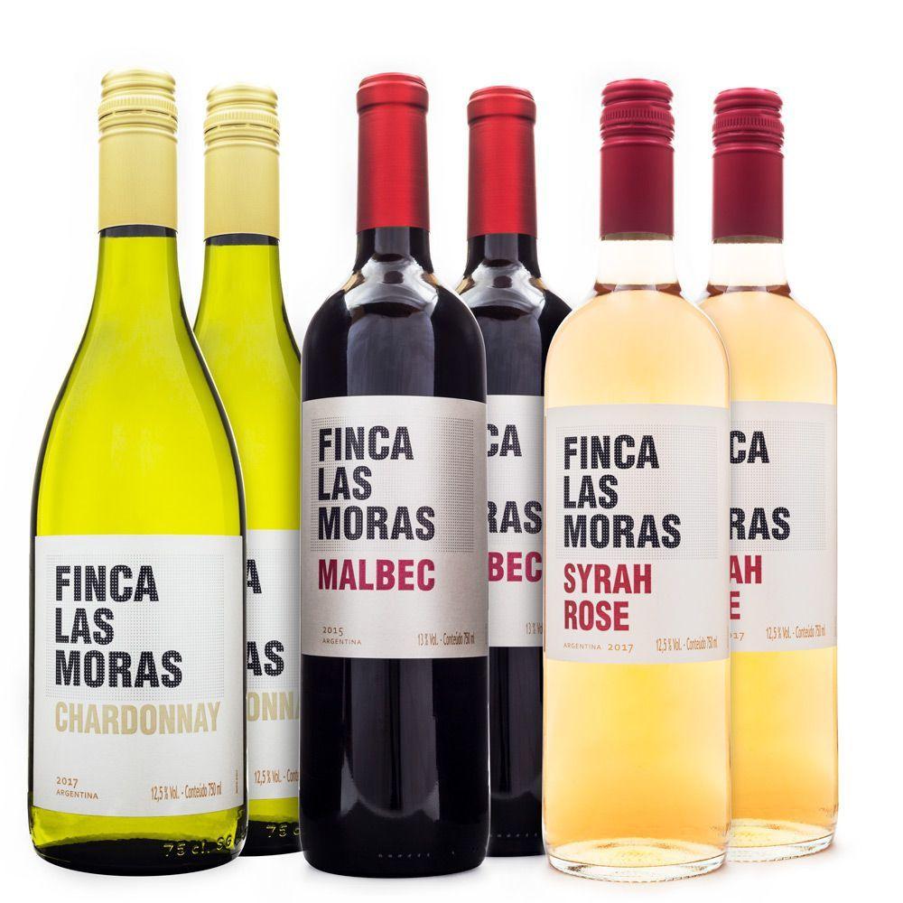 Vinhos Finca Las Moras - Seleção com 6 Garrafas