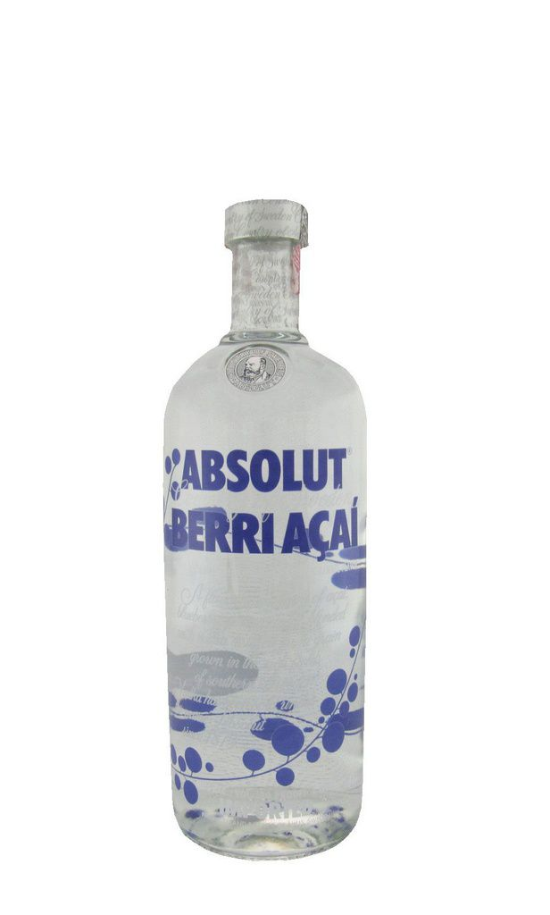 Vodka Absolut Berri Açai 1L