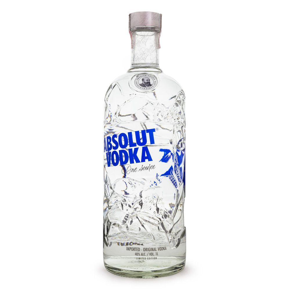 Vodka Absolut Comeback Recycled - Edição Limitada 2019 1L