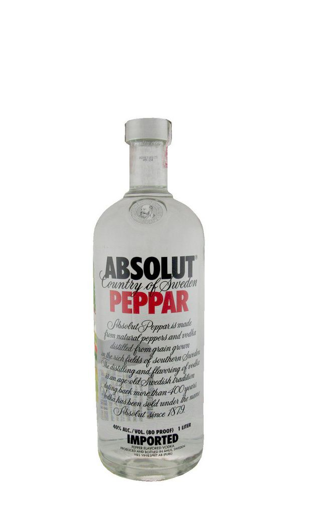 Vodka Absolut Peppar 1000ml