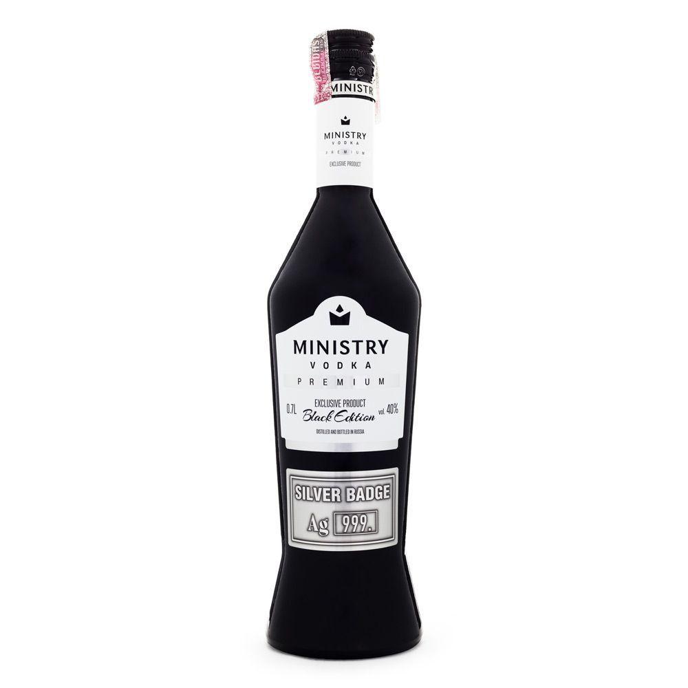 Vodka Ministry Premium Black Edition 700ml