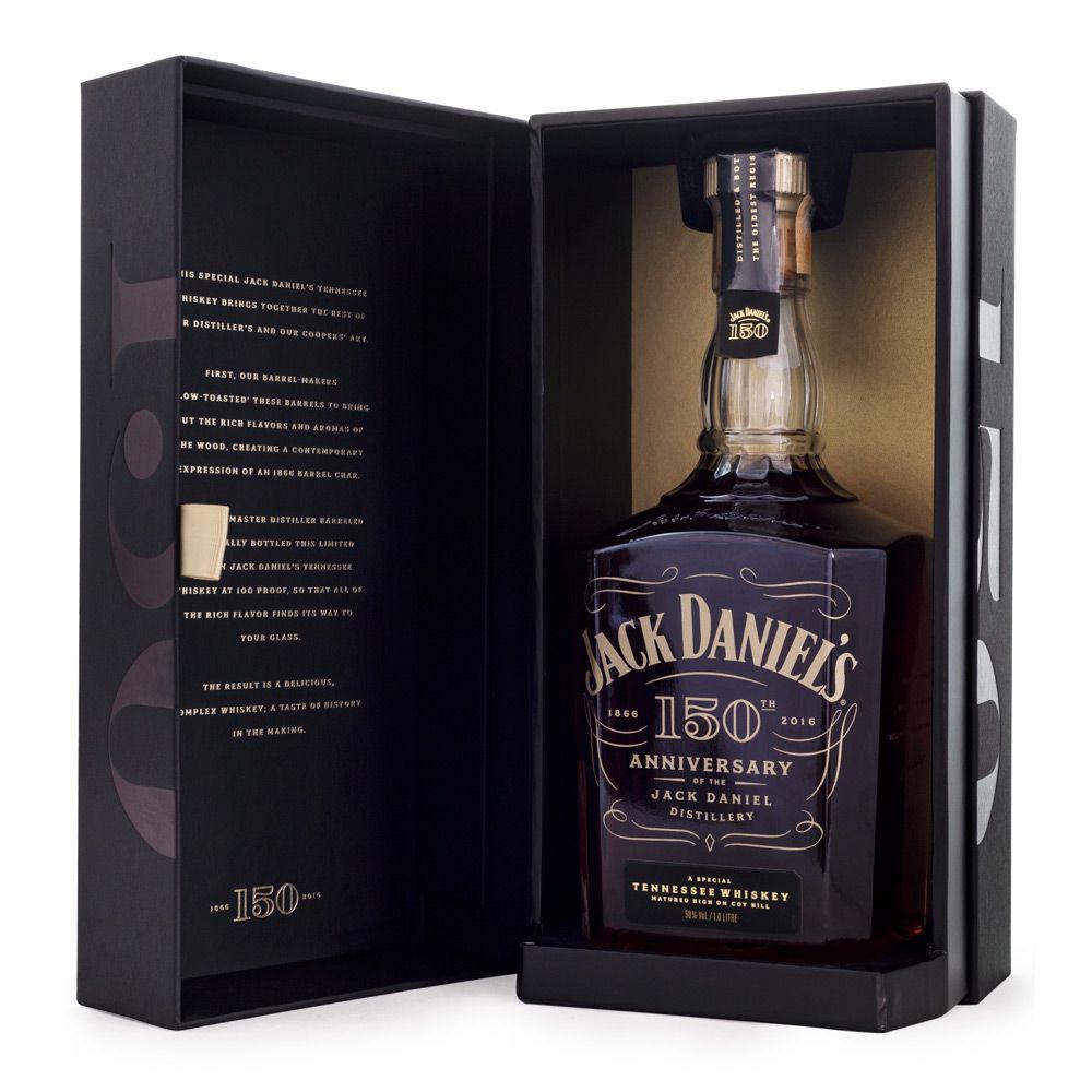 Whiskey Jack Daniel's 150th Anniversary Edição Limitada 1L