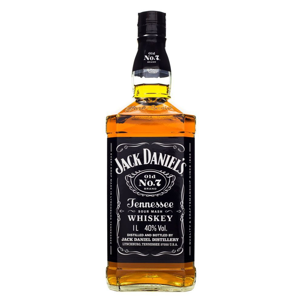 Jack Daniel's Old Nº 7 Tennessee Whiskey 1L