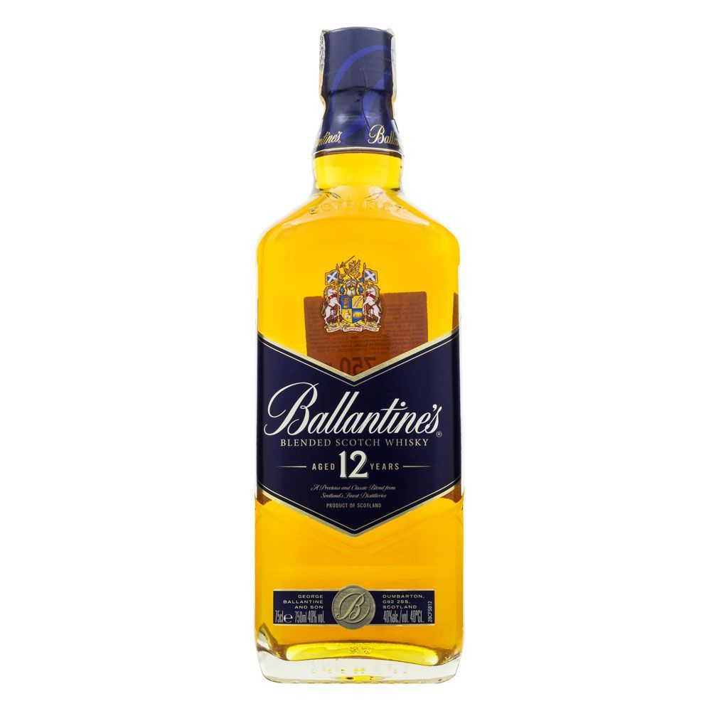 Whisky Ballantine's 12 Anos 750ml