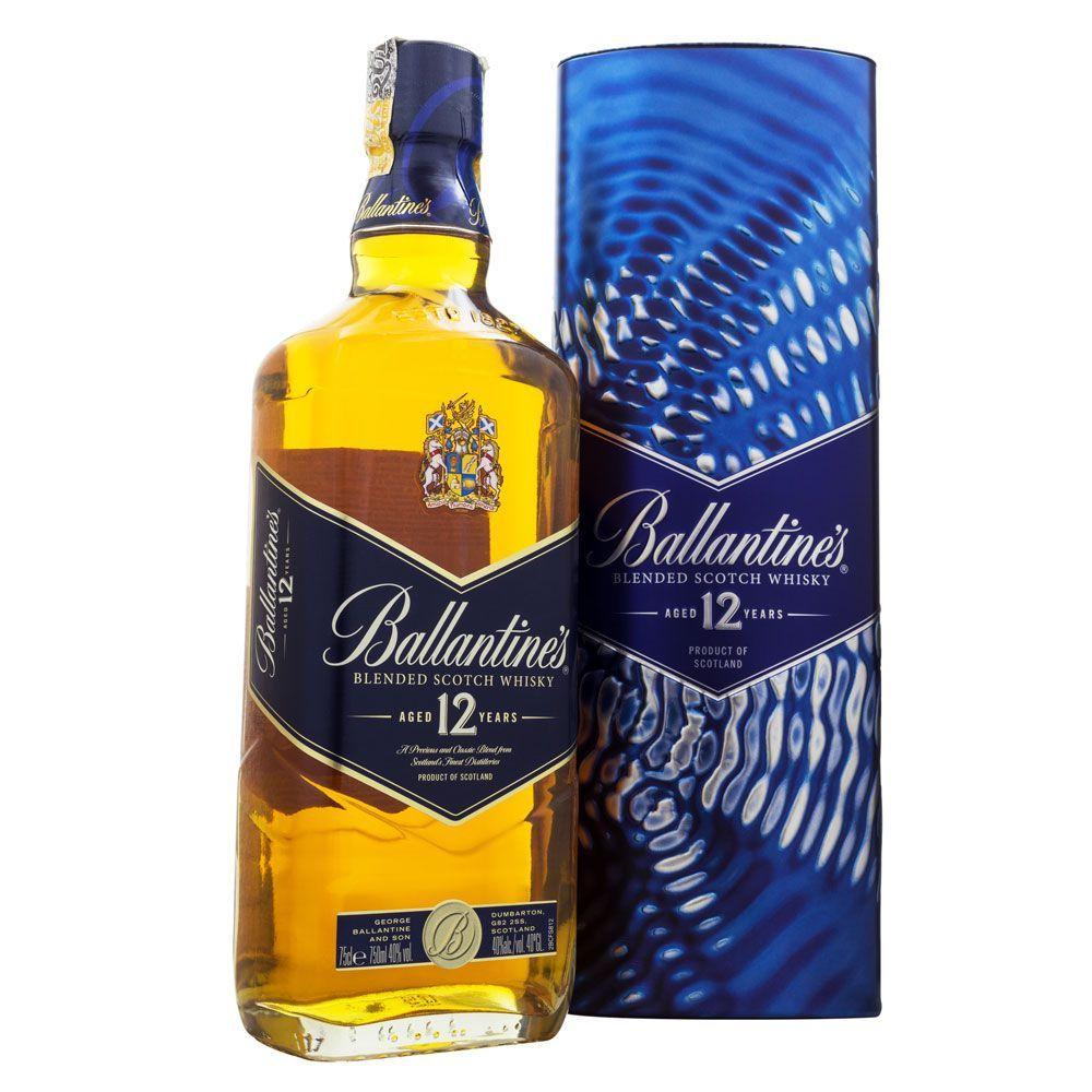 Whisky Ballantine's 12 Anos Ed. Especial Lata 750ml