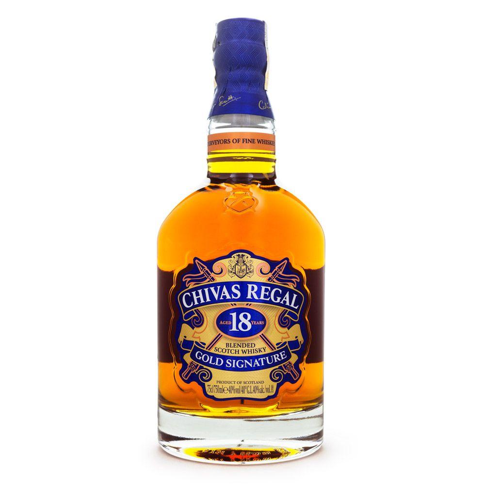 Chivas Regal 18 Anos Blended Scotch Whisky 750ml