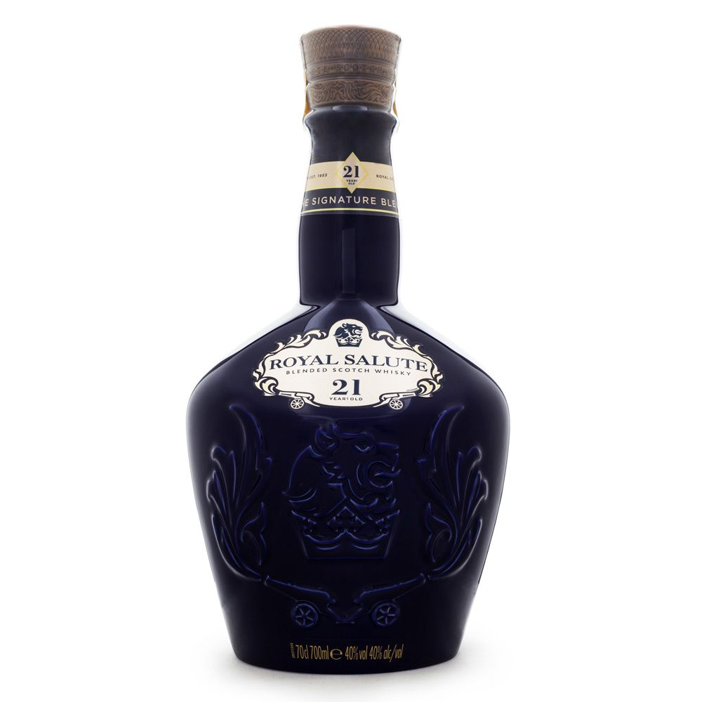 Chivas Royal Salute 21 Anos Blended Scotch Whisky 700ml