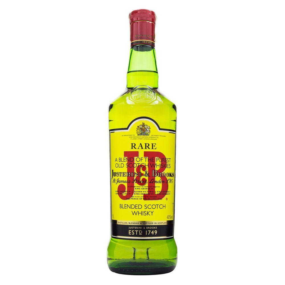 J&B Rare Blended Scotch Whisky 1L